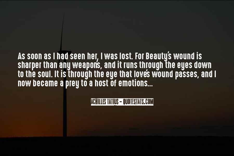 Lost Her Love Quotes #1198979