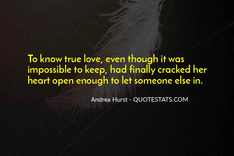 Lost Her Love Quotes #182066