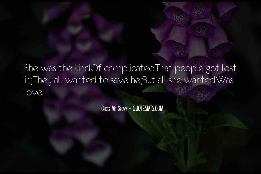 Lost Her Love Quotes #531535