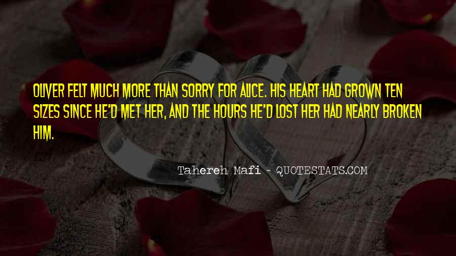 Lost Her Love Quotes #759858