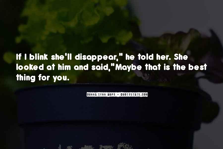 Lost Her Love Quotes #939649