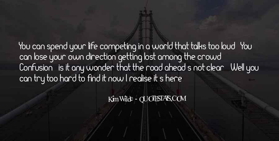 Lost In A World Quotes #117456