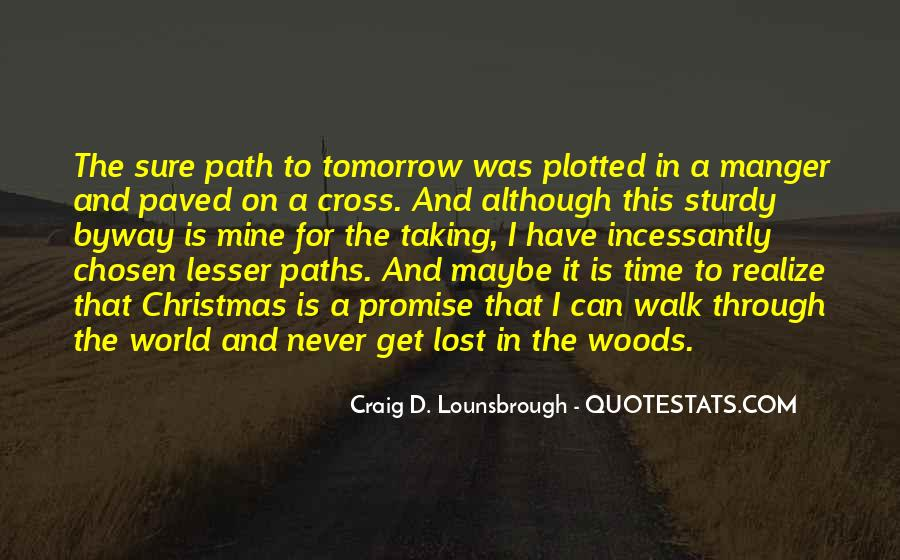Lost In A World Quotes #18171