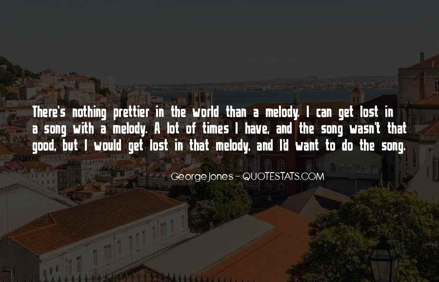 Lost In A World Quotes #263354