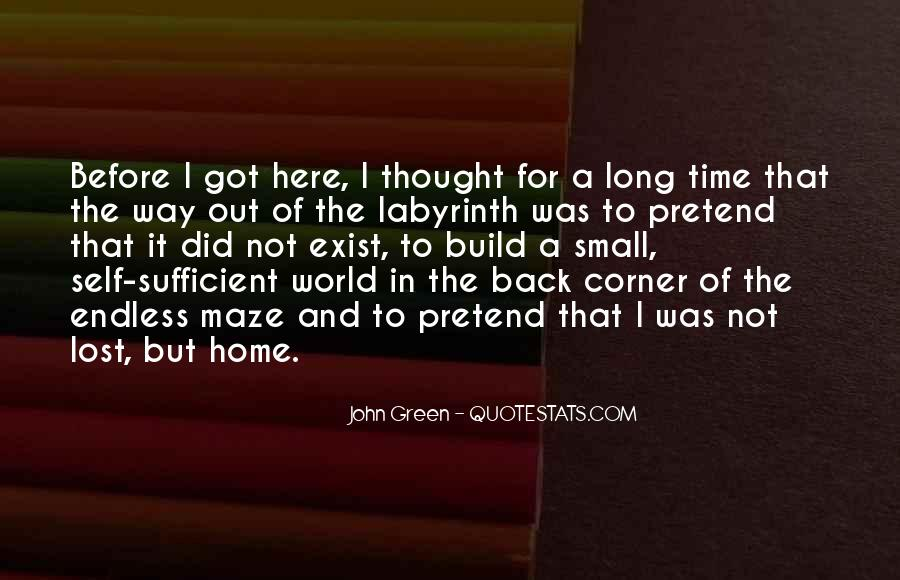 Lost In A World Quotes #425652