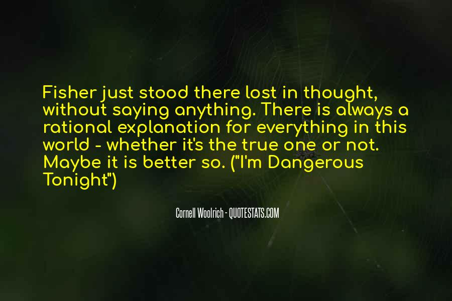 Lost In A World Quotes #459479