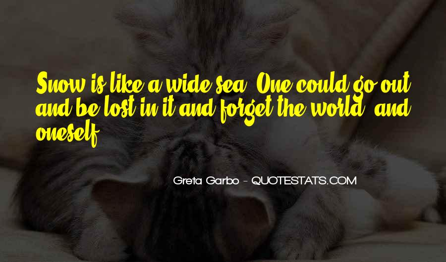 Lost In A World Quotes #548323