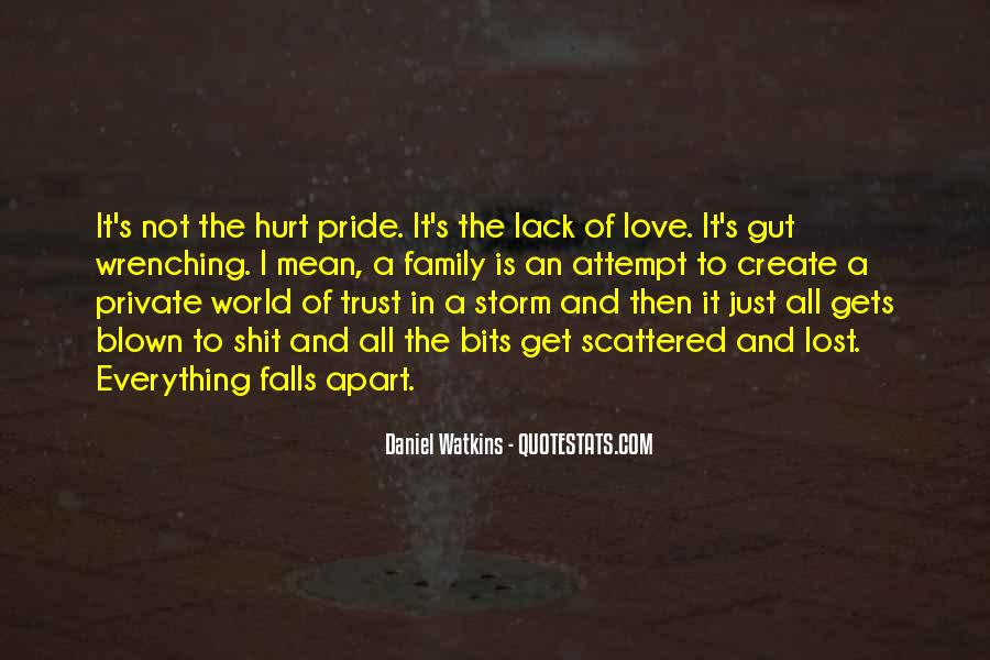Lost In A World Quotes #555083