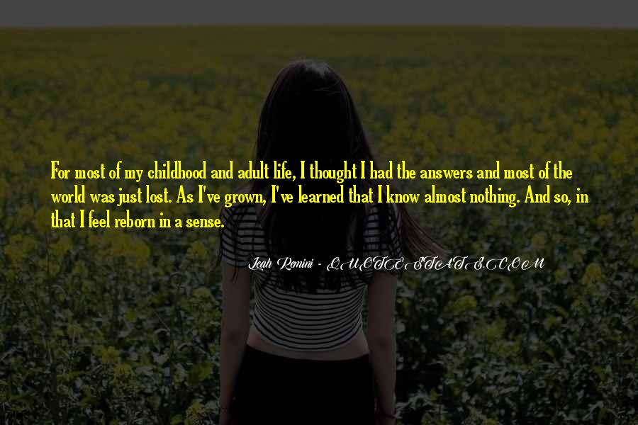 Lost In A World Quotes #562301