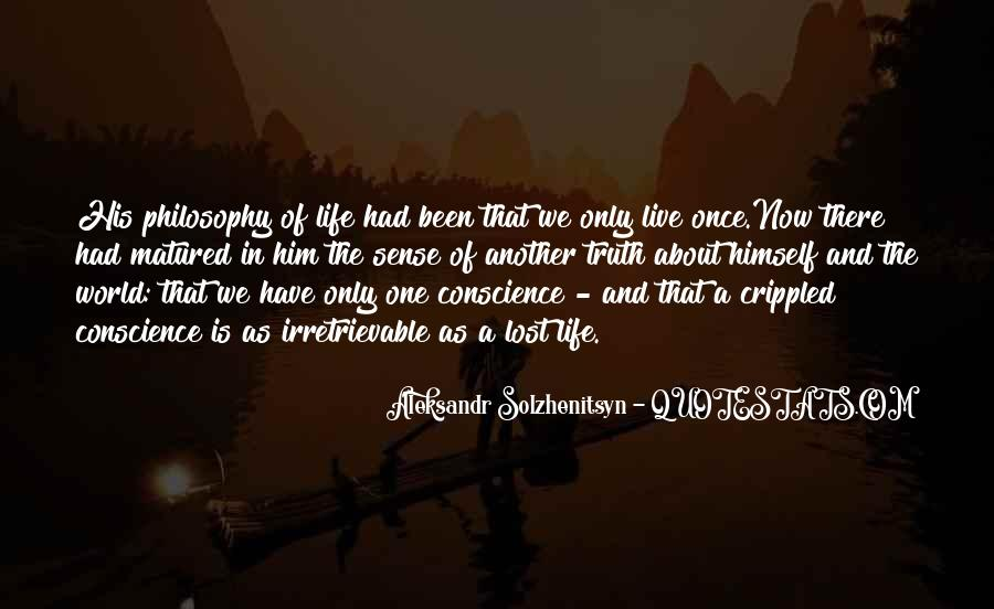 Lost In A World Quotes #686124