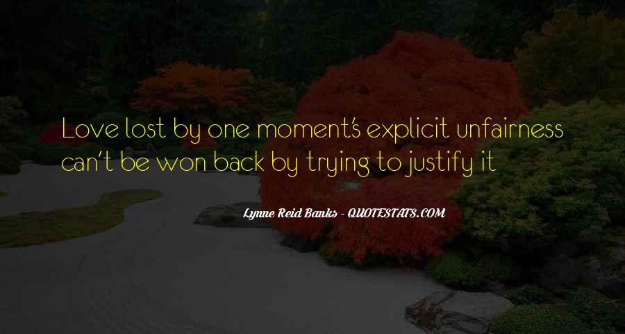 Lost Love Back Quotes #1081217