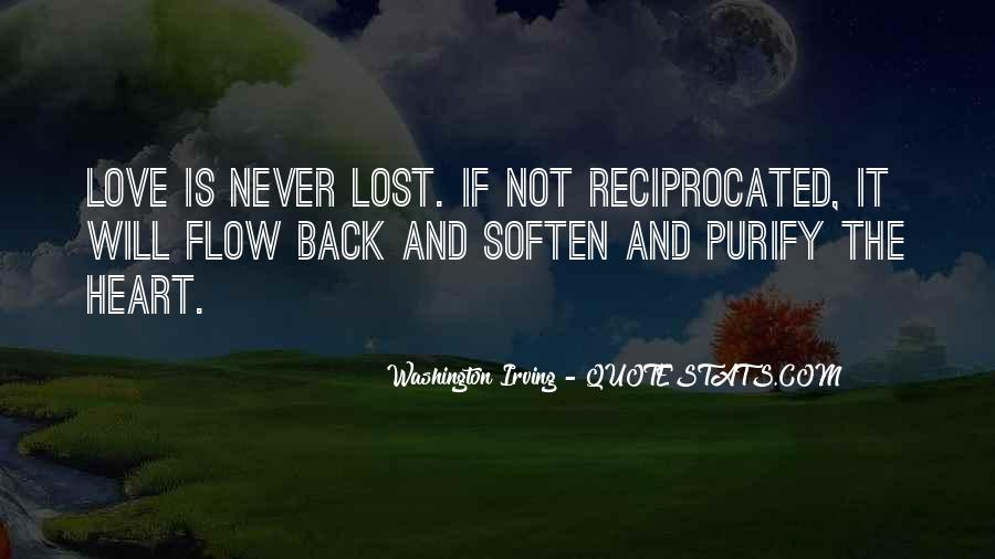Lost Love Back Quotes #1148818