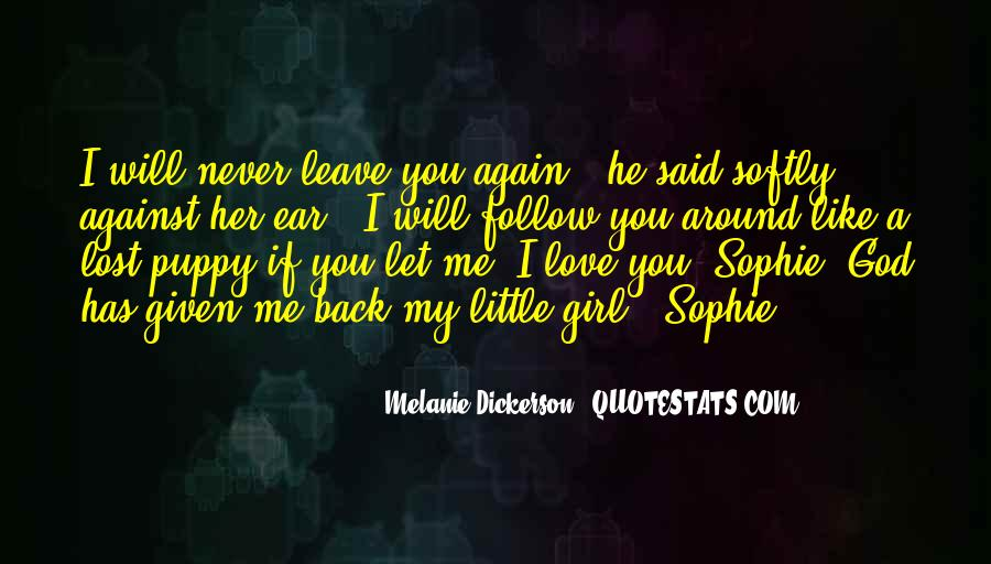 Lost Love Back Quotes #1218651