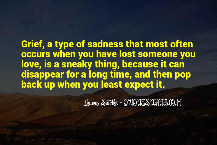 Lost Love Back Quotes #1338763