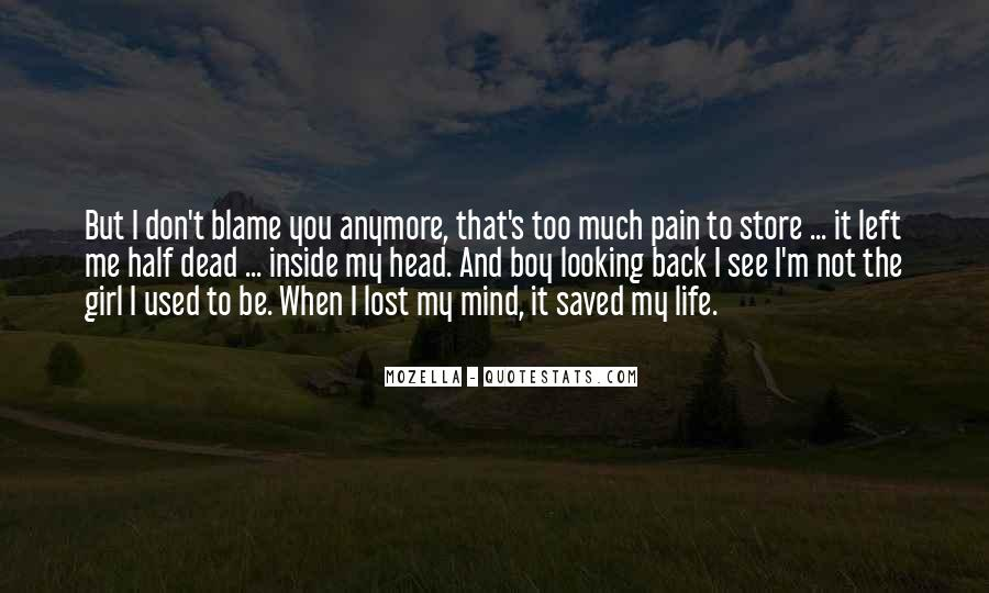 Lost Love Back Quotes #1864464