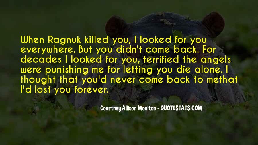 Lost Love Back Quotes #386213
