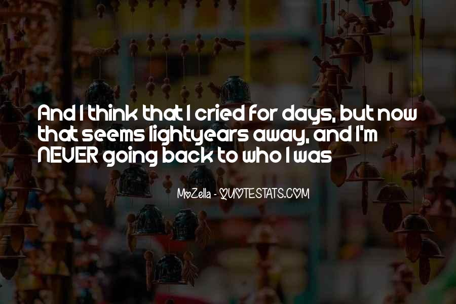 Lost Love Back Quotes #425720