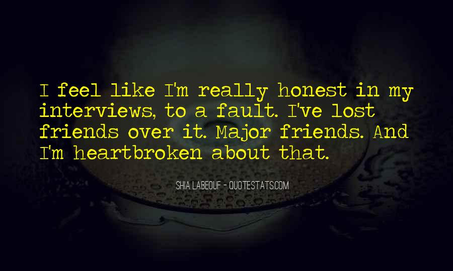 Lost So Many Friends Quotes #74253