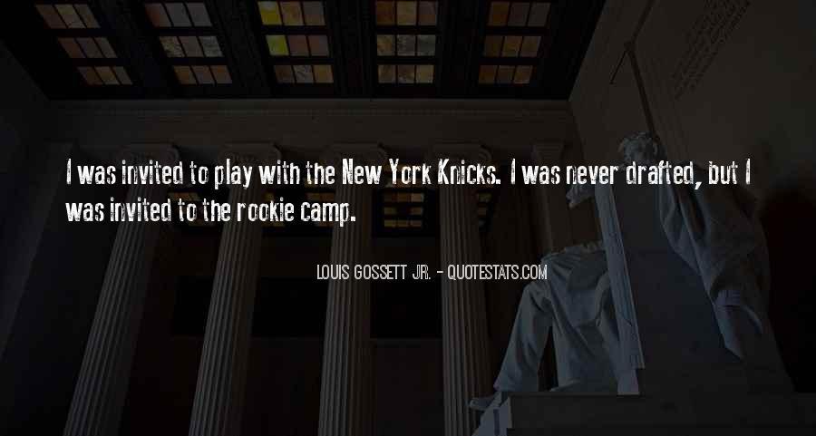 Louis Gossett Quotes #904797