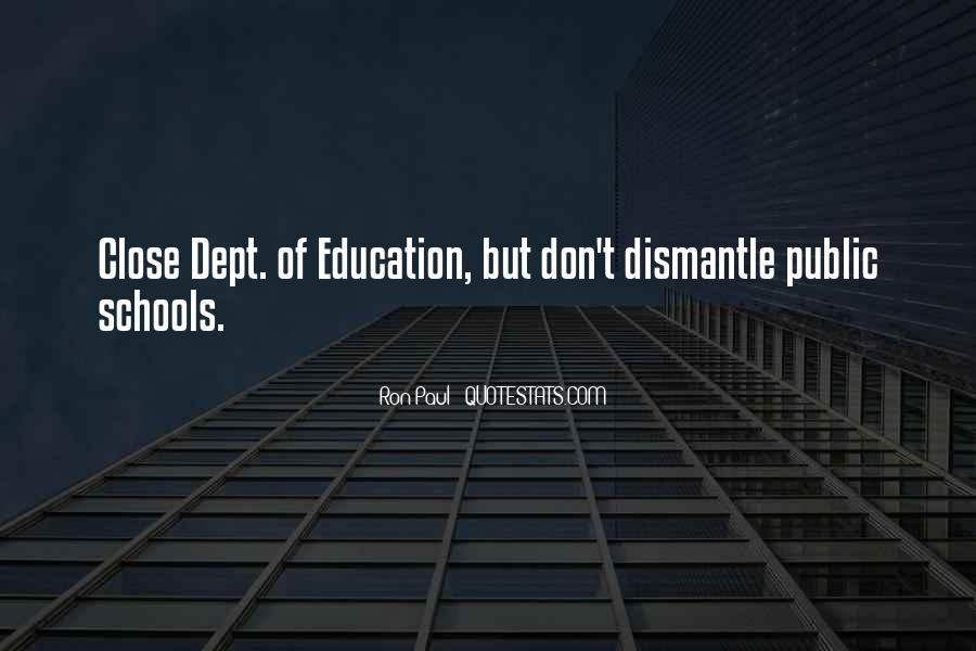 Quotes About Dept #834274