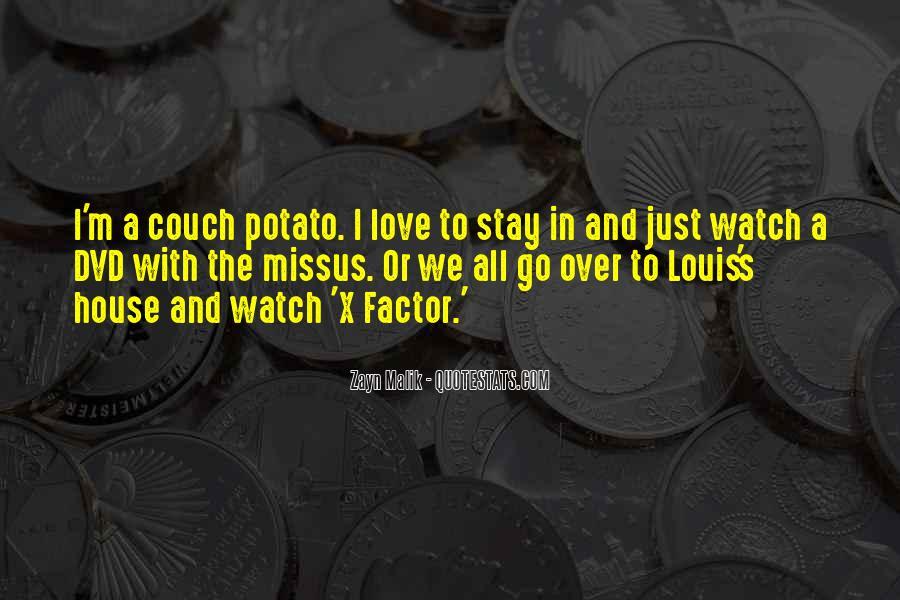 Louis X Factor Quotes #1469510