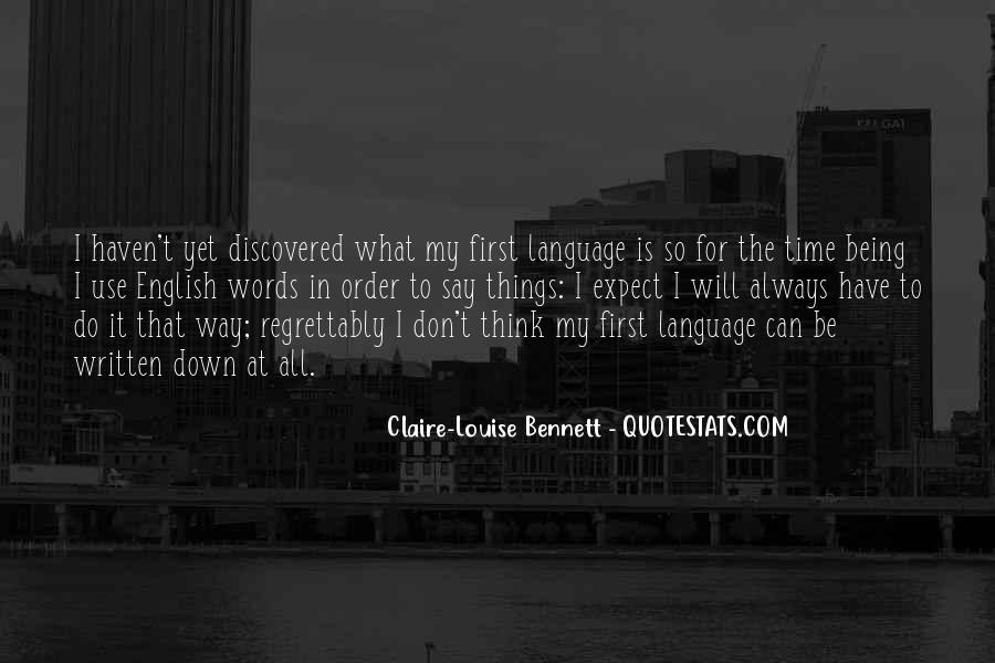 Louise Bennett Quotes #537319
