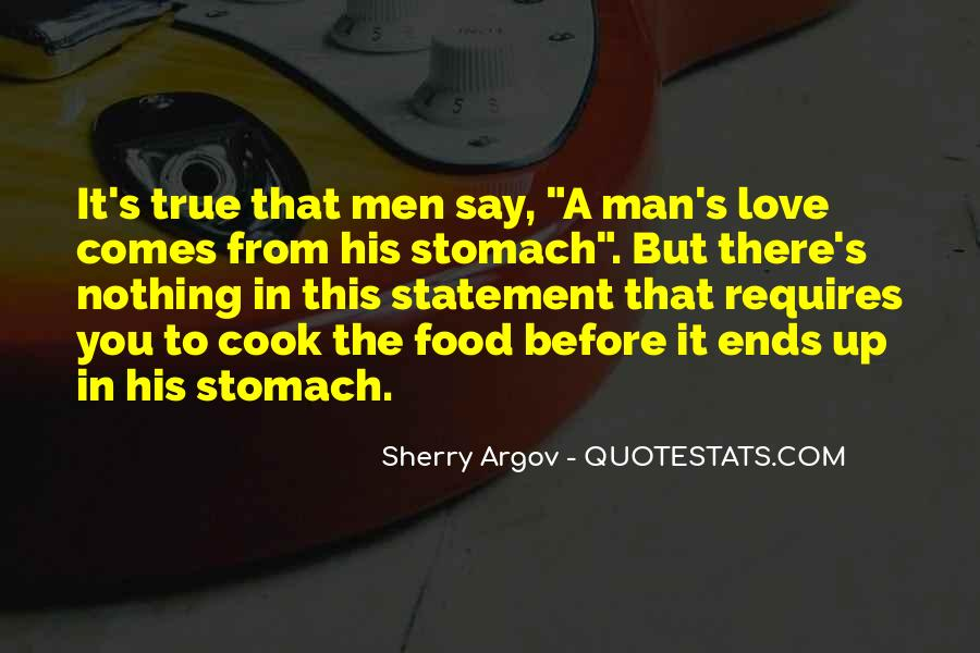 Love A Man Who Can Cook Quotes #1456004