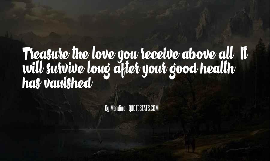 Love Above All Quotes #533688