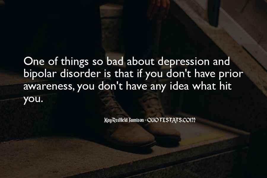 Top 21 Quotes About Depression Awareness: Famous Quotes ...