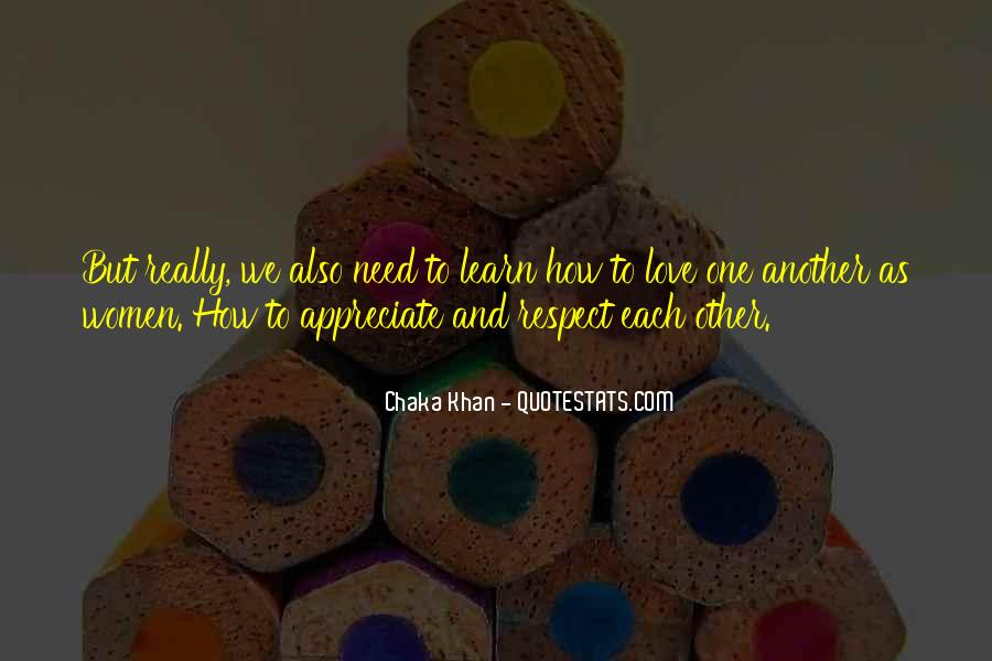 Love And Respect Each Other Quotes #584173