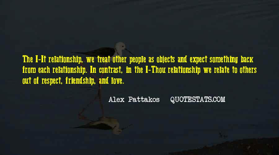 Love And Respect Each Other Quotes #65049