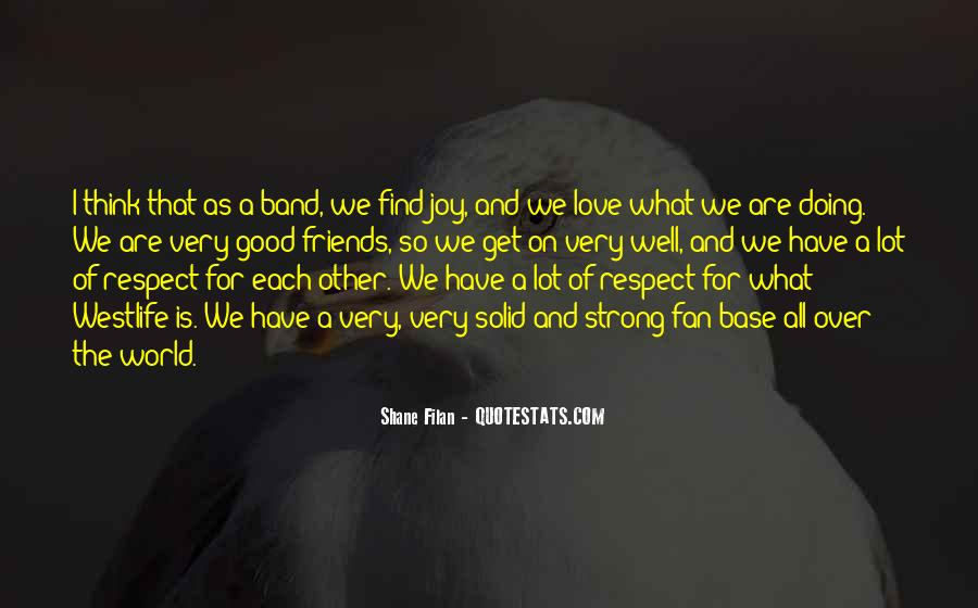 Love And Respect Each Other Quotes #865901