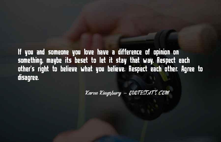 Love And Respect Each Other Quotes #900886
