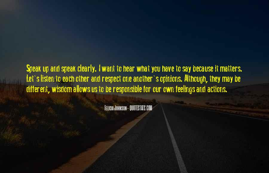 Love And Respect Each Other Quotes #946219