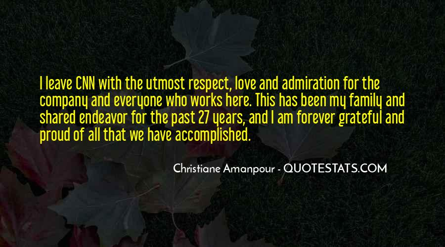 Love And Respect Your Family Quotes #144962