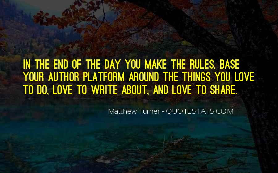 Love And Rules Quotes #1020421