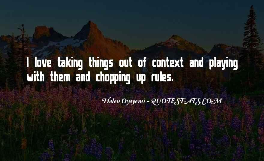 Love And Rules Quotes #1065568