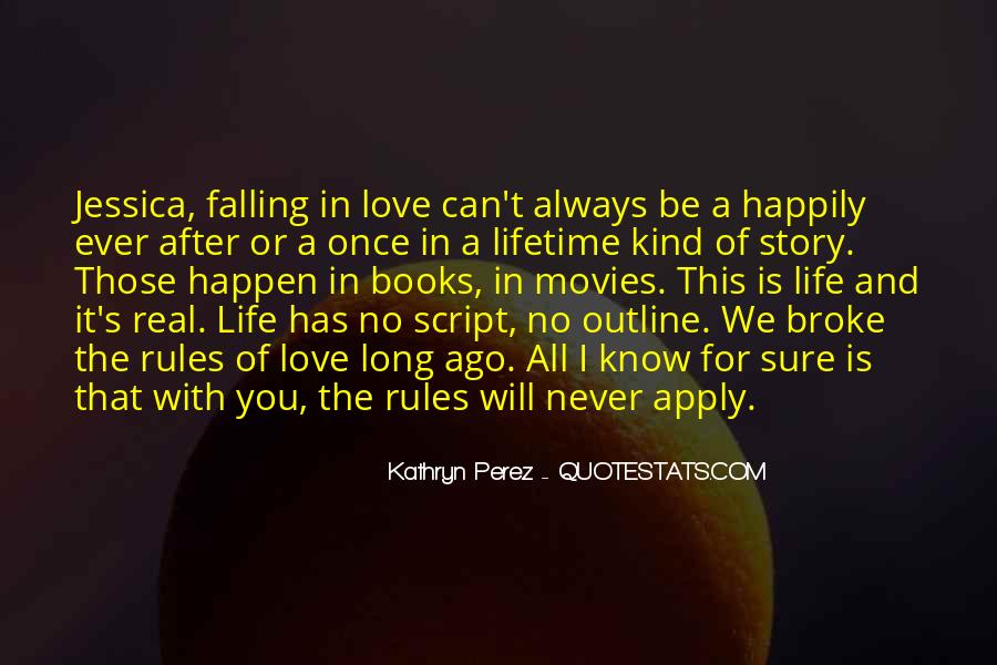 Love And Rules Quotes #29547