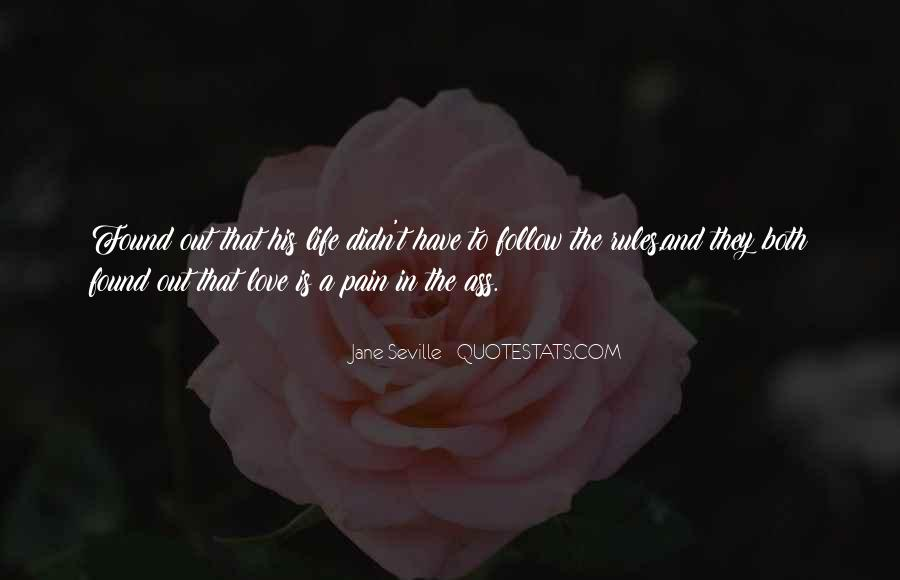 Love And Rules Quotes #337828