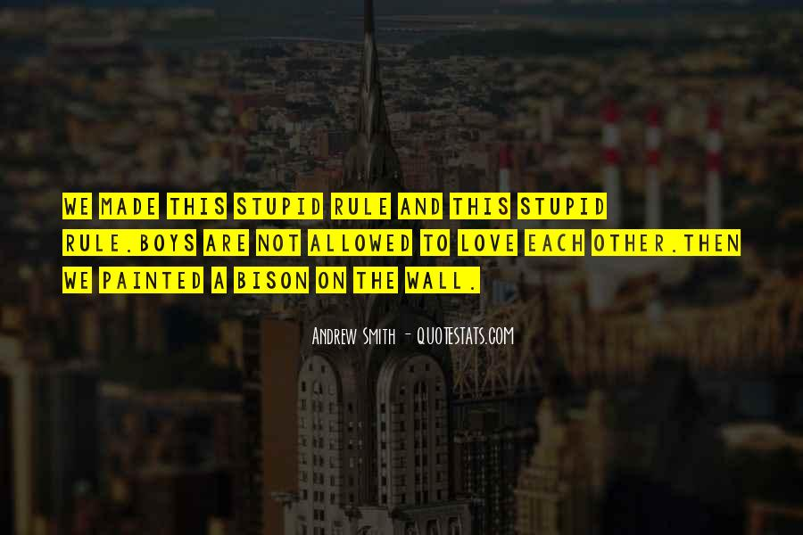 Love And Rules Quotes #374575