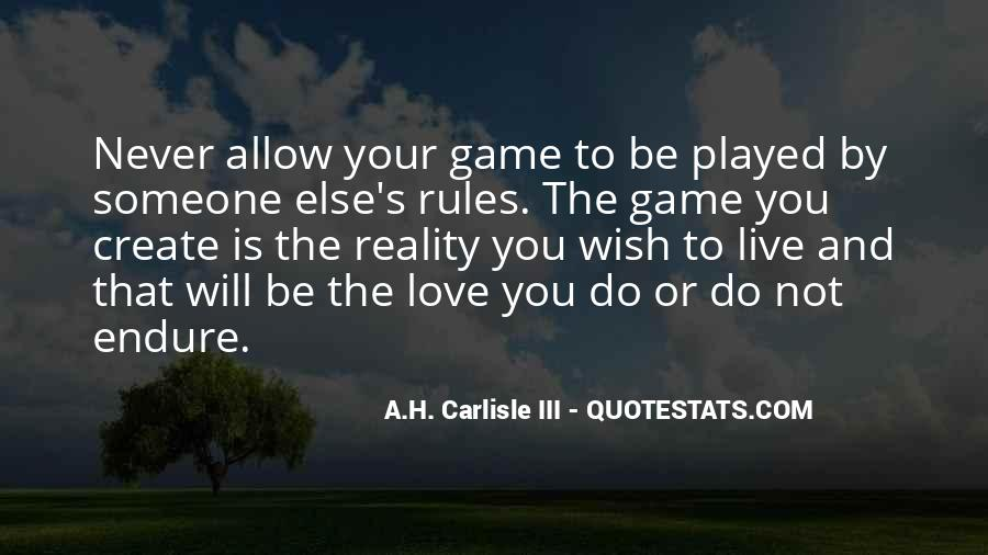 Love And Rules Quotes #446848
