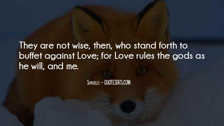 Love And Rules Quotes #461836