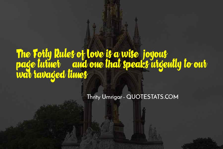 Love And Rules Quotes #502419
