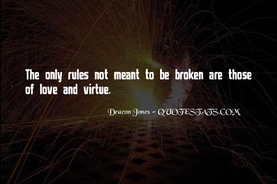 Love And Rules Quotes #600996