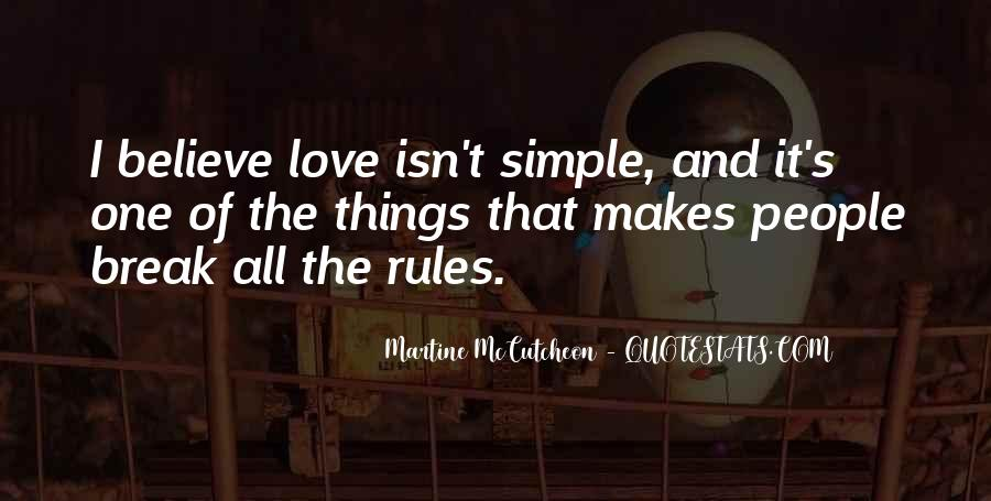 Love And Rules Quotes #776440