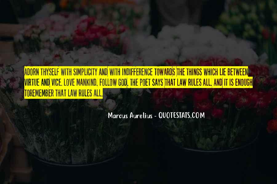 Love And Rules Quotes #827785