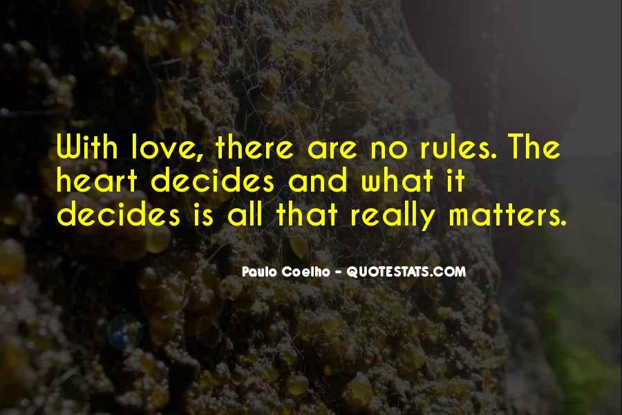 Love And Rules Quotes #92575