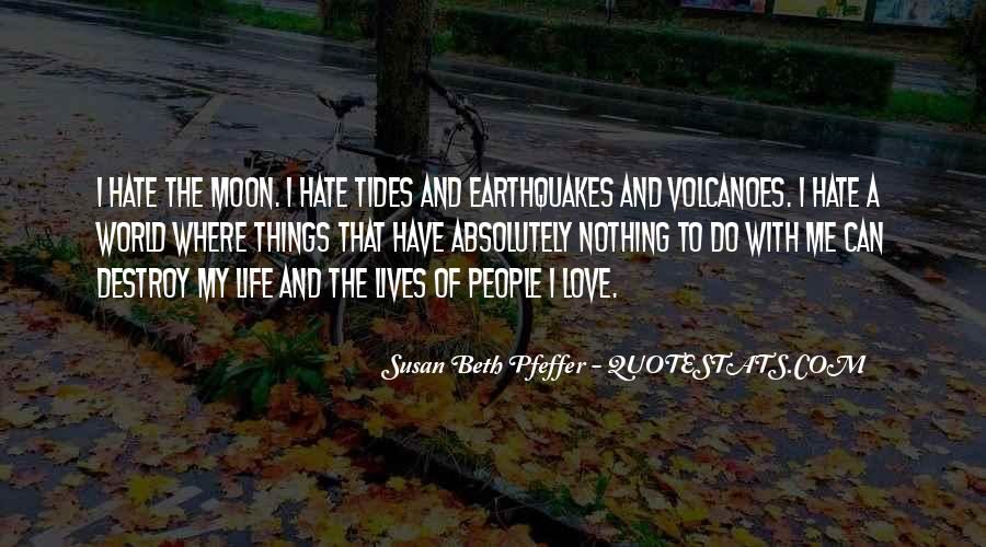 Love And Tides Quotes #1862368