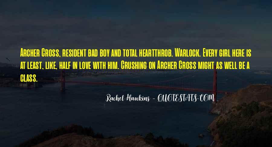 Love Bad Boy Quotes #1631997