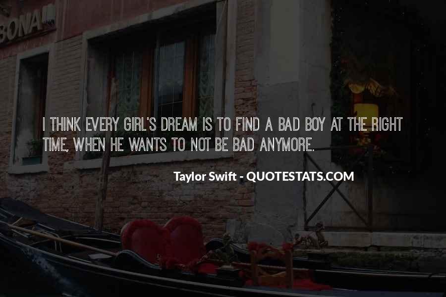 Love Bad Boy Quotes #1853438